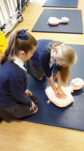 First Aid Awarness at Meriden Primary
